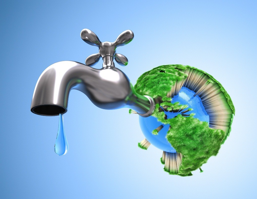 Economize água!