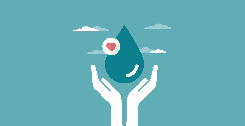 Economia de água em condomínios Quality Administradora de  #0A7E8D 2917 1500
